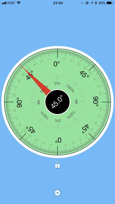 TiltMeter screenshot one