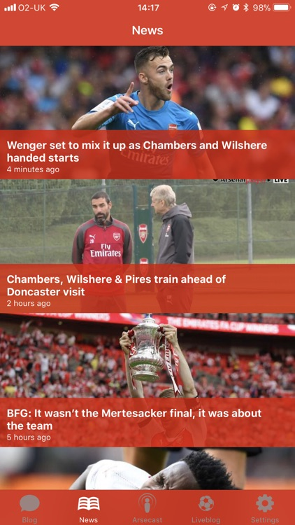 Arseblog screenshot-1