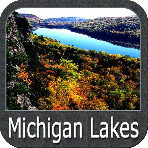Michigan Lakes Fishing Charts