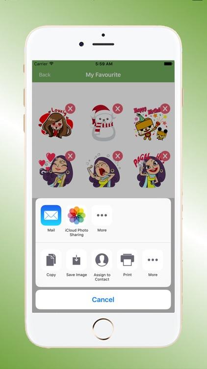 Emoji HD Talking Stickers screenshot-4