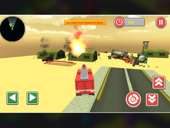 911 Blocky Ambulance Sim Game screenshot 8