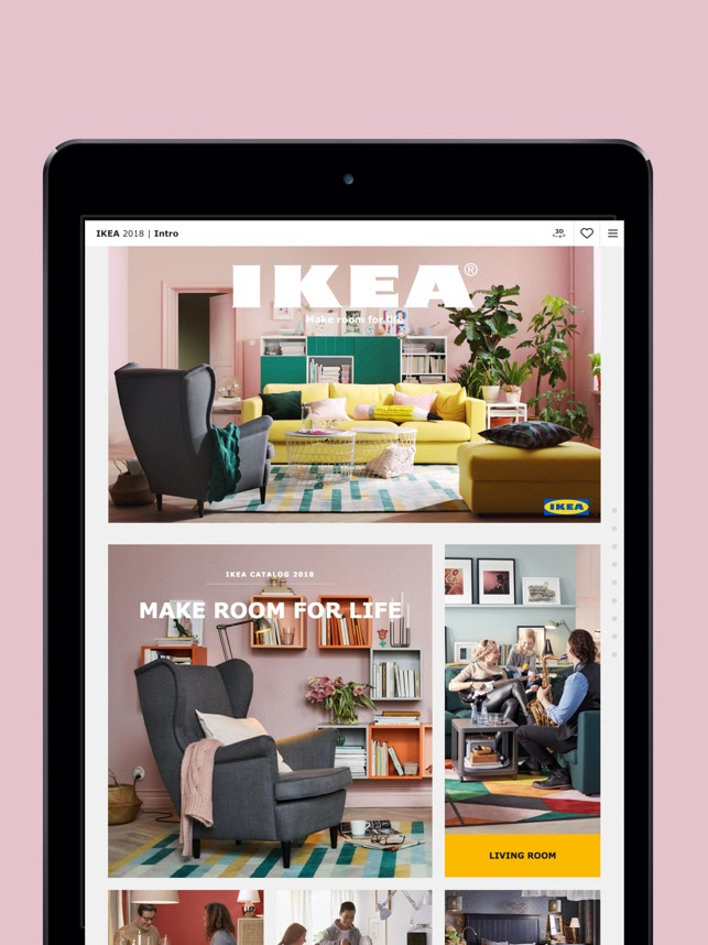 ikea catalogue on the app store. Black Bedroom Furniture Sets. Home Design Ideas