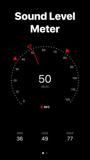 Audiobel: Sound level meter Screenshot