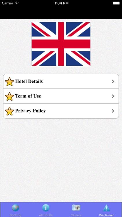 London Hotels & Maps screenshot-3