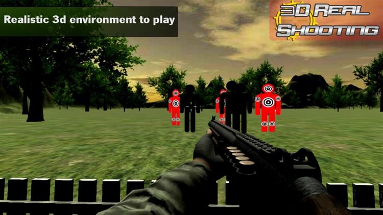 Range Shooting Simulation 3D Gun Shooting Training screenshot-3