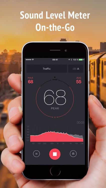 Decibel Meter Pro - measure noise level in dB screenshot-0