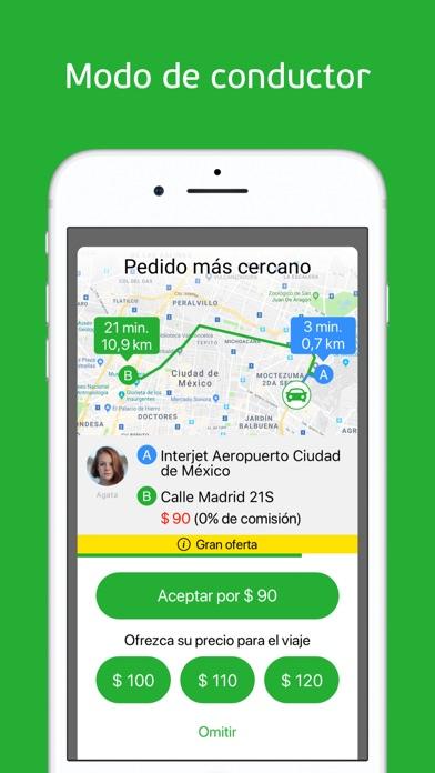 Screenshot for inDriver: alternativa de taxi in Ecuador App Store