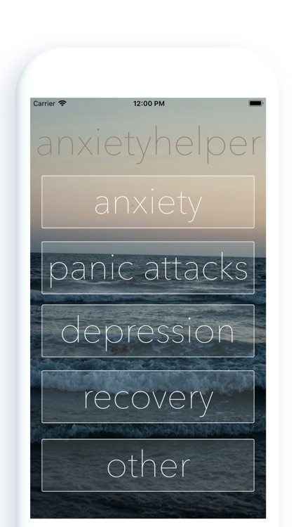 anxietyhelper screenshot-0