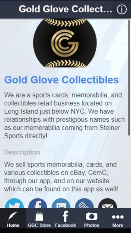 Gold Glove Collectibles By Michael Fernandez