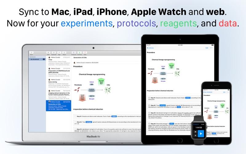 Hivebench – Lab Notebook screenshot 1