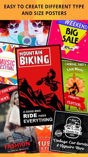 Poster Maker Flyer Maker on the App Store