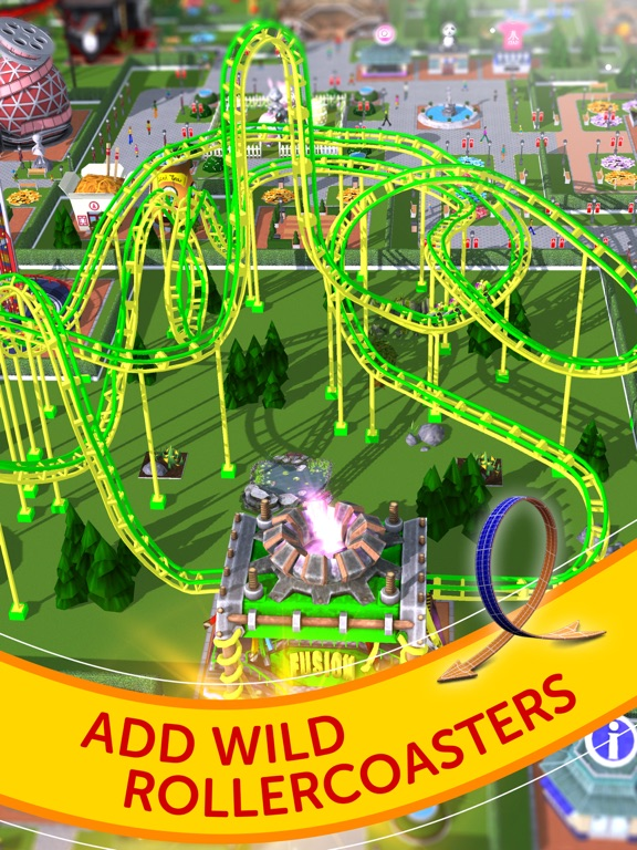 RollerCoaster Tycoon® Touch™ Screenshots