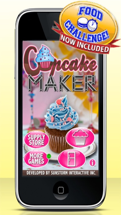 Cupcake Maker Games screenshot-0