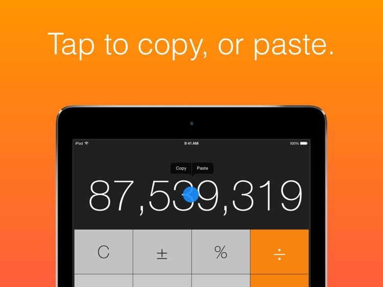Calculator HD (for iPad)