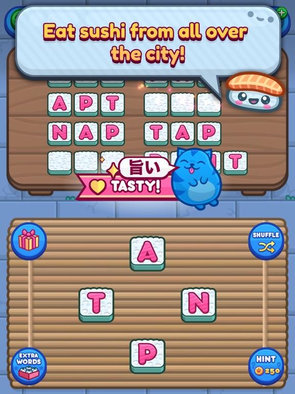 Sushi Cat Words screenshot 7