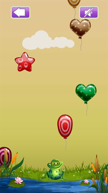 Pop Balloons Frog screenshot-3