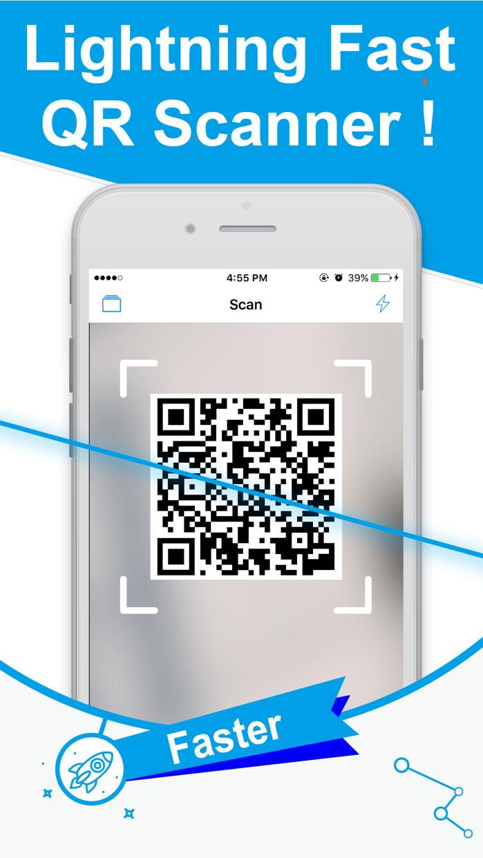 QR Code Reader for iPhone! Screenshot