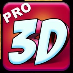3D Text Art - Pro