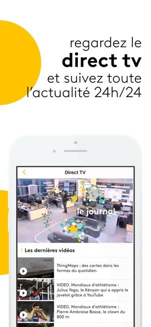 franceinfo l 39 actu en continu dans l app store. Black Bedroom Furniture Sets. Home Design Ideas