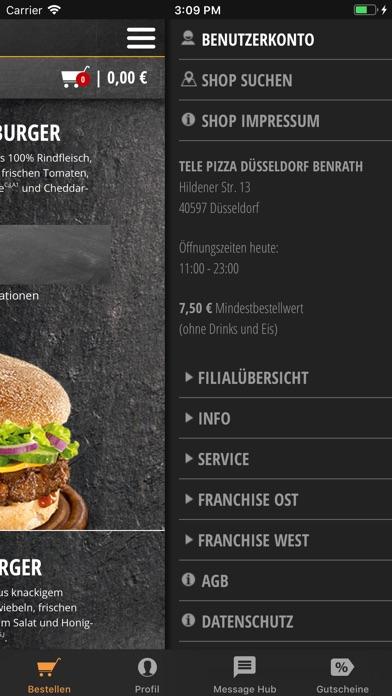Screenshot for TelePizza - Die Genussbringer! in Germany App Store
