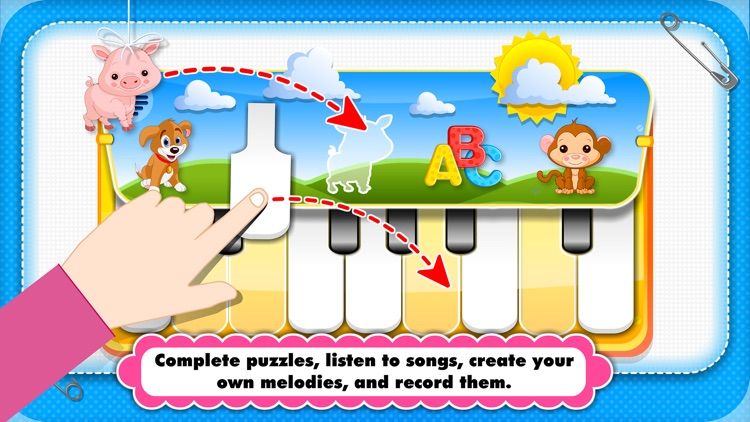 Baby Piano for Toddlers & Kids