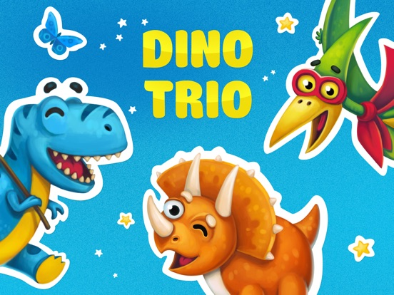 Dino Trio. Your Dinosaurs Pets-ipad-0