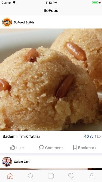 Screenshot for SoFood Nefis Yemek Tarifleri in Azerbaijan App Store