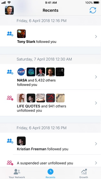 Who Unfollowed Me on Twitter screenshot-5