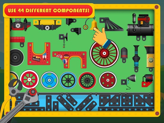 Train Simulator & Maker Games для iPad