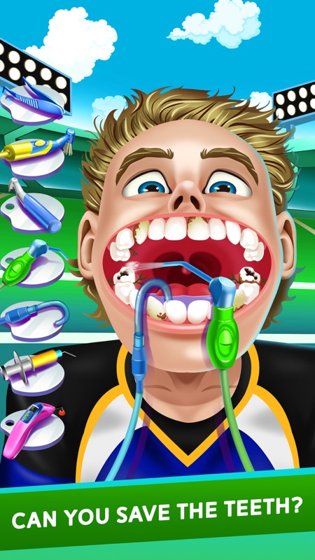 Sports Dentist Salon Spa Games - Online Game Hack and Cheat