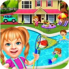 Activities of Sweet Baby Girl Pool Party