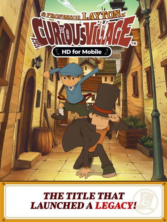 Layton: Curious Village in HD screenshot #1