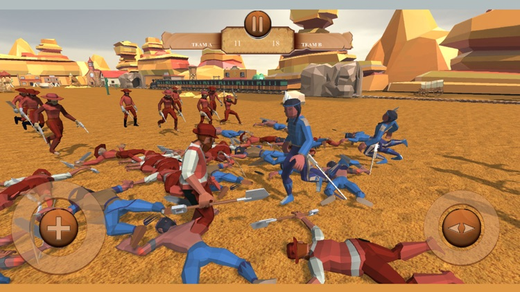 Cowboys Battle Simulator screenshot-3