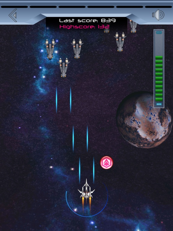 Spaceship Galaxy Flight Скриншоты6