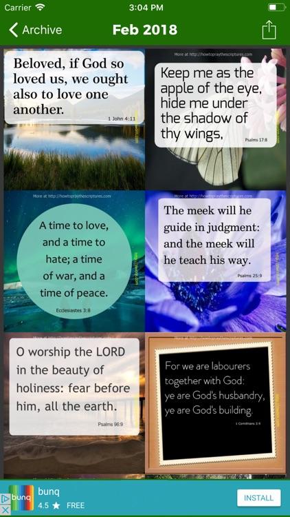 Encouraging Bible Verses · screenshot-3