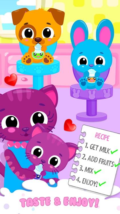 Cute & Tiny Milkshakes screenshot-4