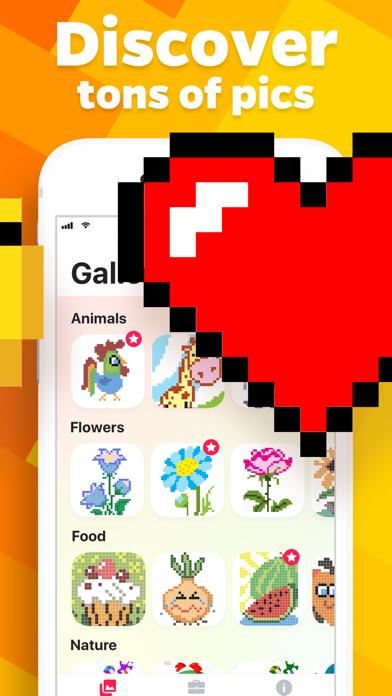 Pixel 2D – color by number screenshot 2