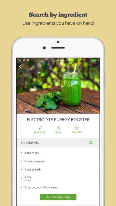 Green Smoothies by Young & Raw Screenshot