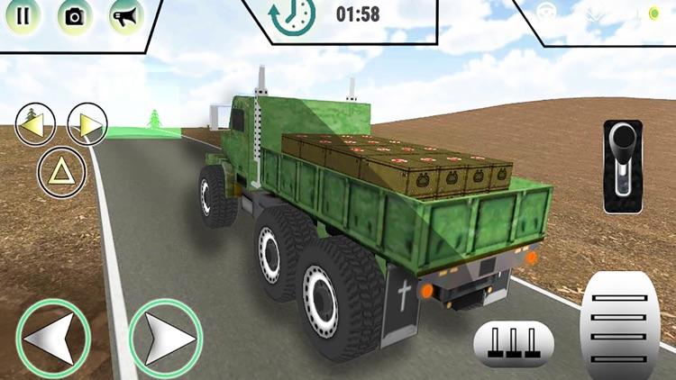 Army Cargo Truck Transporter screenshot-5