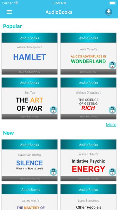 AudioBooks: Best of AudioBooks screenshot one