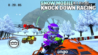 SnowMobile Illegal Bike Racing - by Black Chilli Games - Action