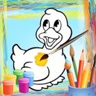 Disegni da colorare libro icon
