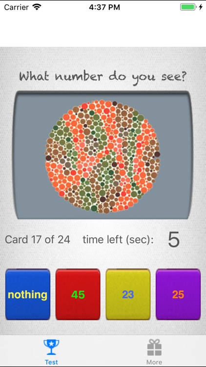 Colorblind Eye Exam Test screenshot-3