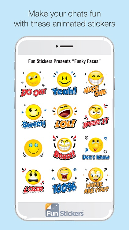 Funky Faces iSticker