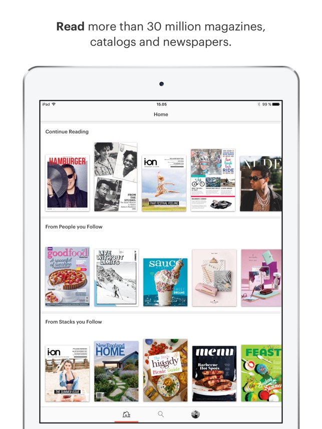 Issuu read magazines on the app store sciox Gallery