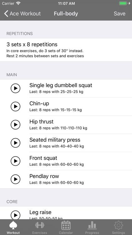 Ace Workout screenshot-3