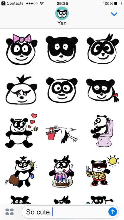 Panda Babies Stickers screenshot-0