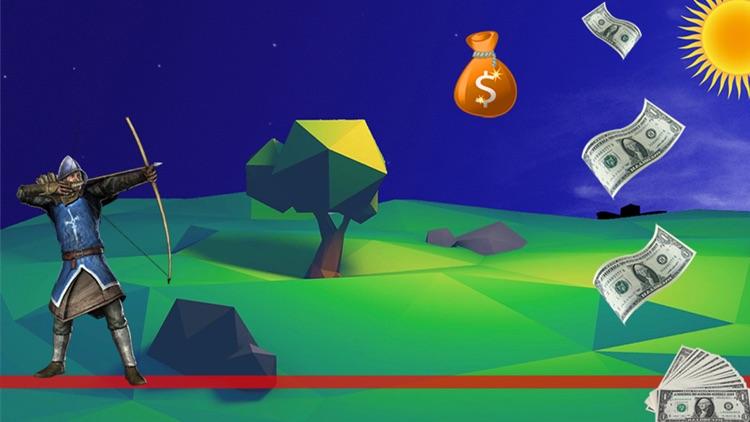 Dollar & Coins Archery Shooter screenshot-4