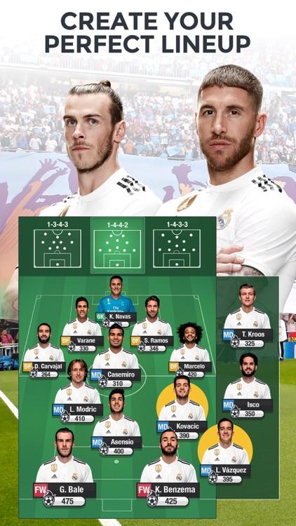 Real Madrid Fantasy Manager 19