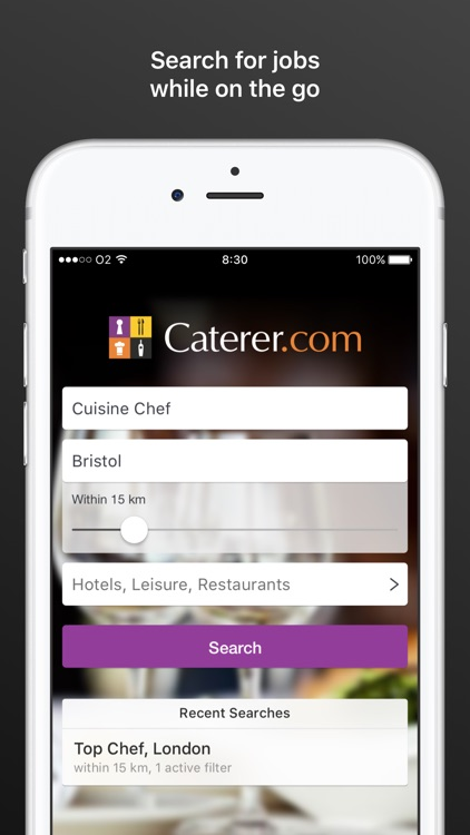 Caterer Job Search